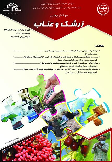 مجله ترویجی زرشک و عناب